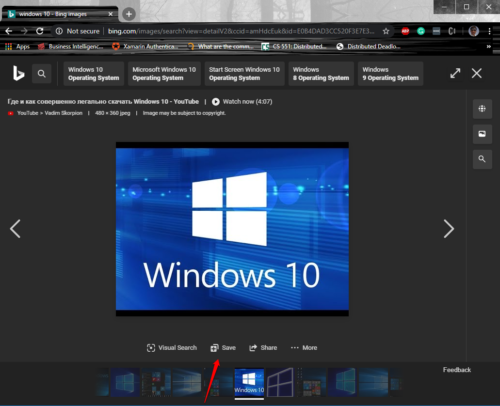 How to create Bing Search Result Collections