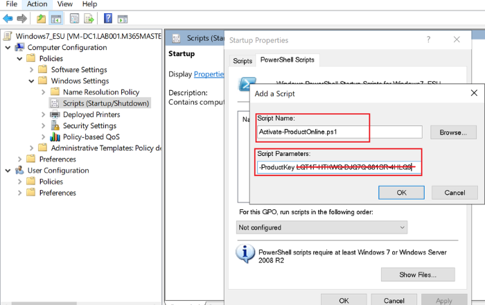 Install & activate Windows 7 ESU keys on multiple devices