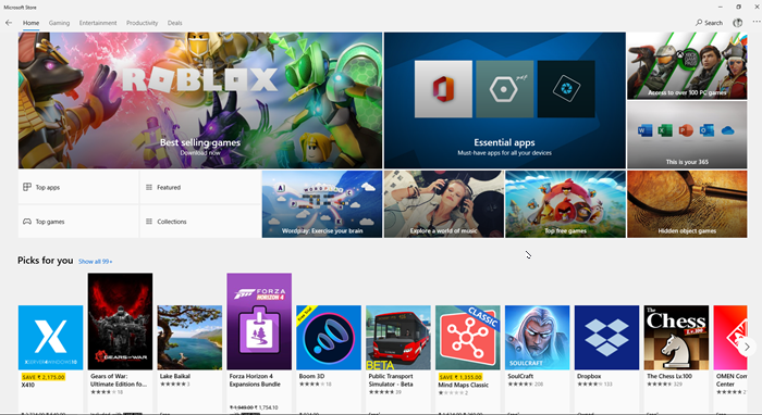 Quick Start Guide for Windows 10 Microsoft Store