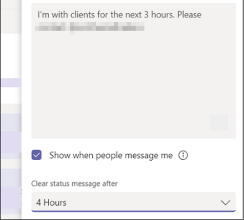 Microsoft Teams status is stuck on Out of Office