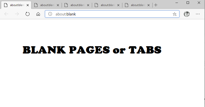 Open Blank TAB Edge