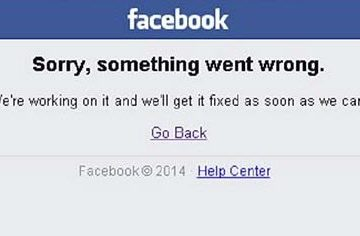 Sorry, Something Went Wrong Facebook