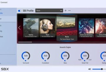 Configure Sound Blaster Audio