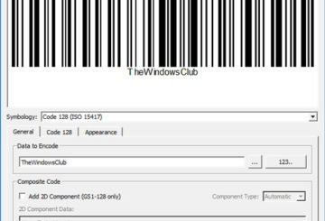 Zint Barcode Studio is a free barcode and QR code generator for Windows