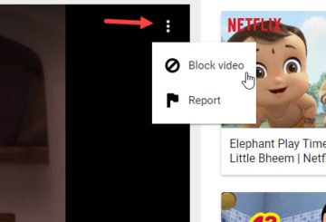 How to block video and channel in YouTube Kids