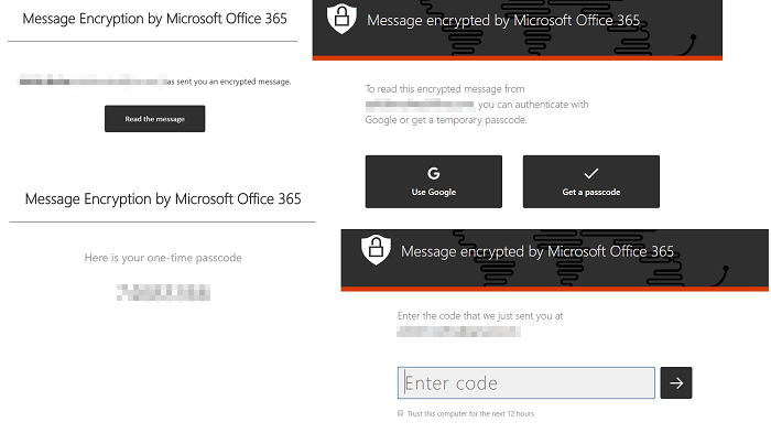 Open Encrypted Email Outlook