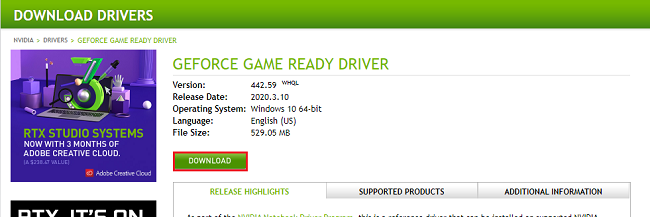 download_nvidia_device_driver