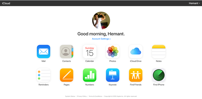 Restore iPhone contacts, Reminders, Calendars via iCloud on a PC