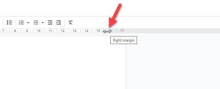 Change page margin and color in Google Docs