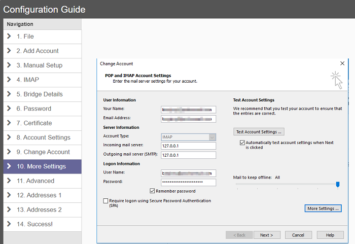 Protonmail email client ProtonMail Bridge