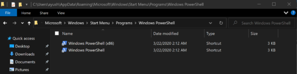 Reset PowerShell to default settings