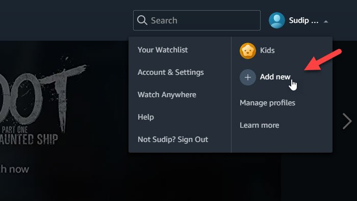 How to create and manage Amazon Prime Video profiles