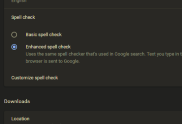 Automatically Turn on Spell Checker in Google Chrome
