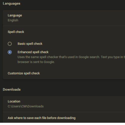 How to automatically Turn on Spell Checker in Google Chrome