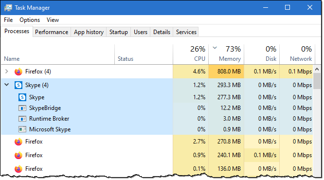 skype not sending files or messages