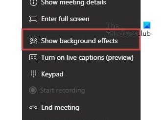 use Custom Backgrounds in Microsoft Teams