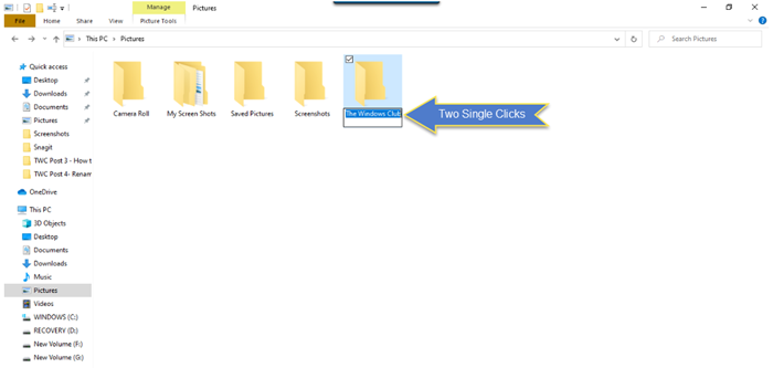How to rename files or folders in Windows 10