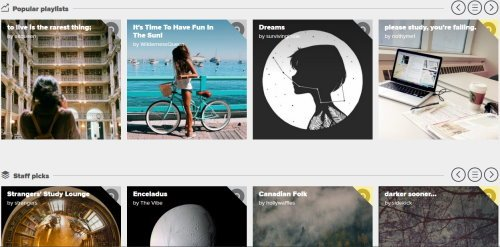 find and share Music Playlists online