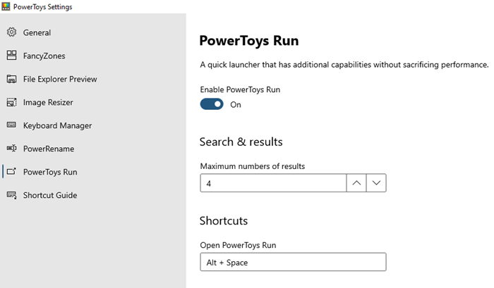 How to use Keyboard Manager and Application Launcher PowerToys
