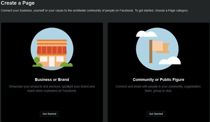create Posts, Stories, Life Events, Page and more in new Facebook