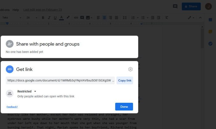 Copy Google Docs files automatically when shared
