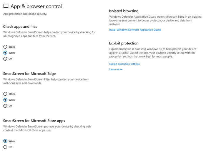 App and Browser control