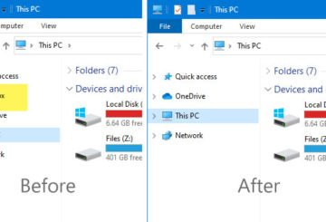 How to remove Dropbox from File Explorer navigation pane