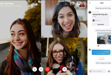 Skype for Business meetings - Poll, Q&A & Whiteboard features