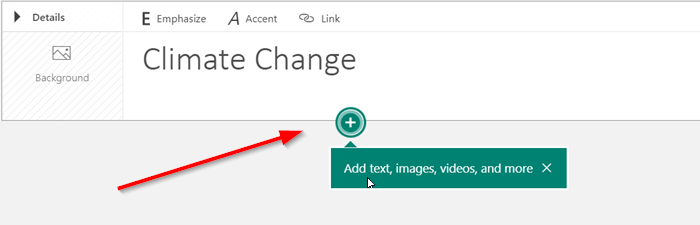 Add Video and Audio files to Microsoft Sway