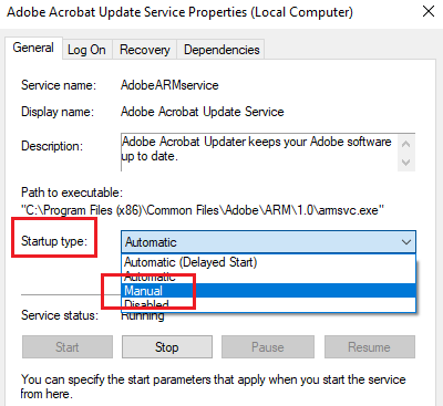 What is the Adobe_Updater.exe process?