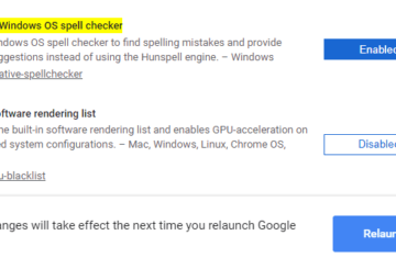 Enable Windows Spellchecker in Google Chrome and Microsoft Edge