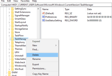 How to Reset Task Manager to Default in Windows 10
