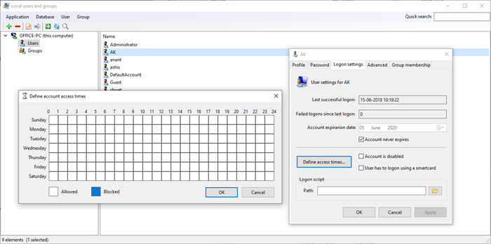 Local User & Group Management in Windows 10 Home