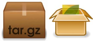 extract .TAR.GZ, .TGZ or .GZ. file