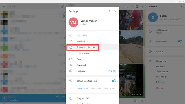 Telegram Messenger Privacy and Security Tips