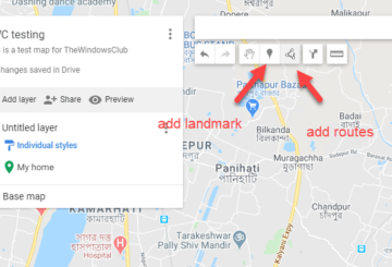 Create a map free in Google Maps