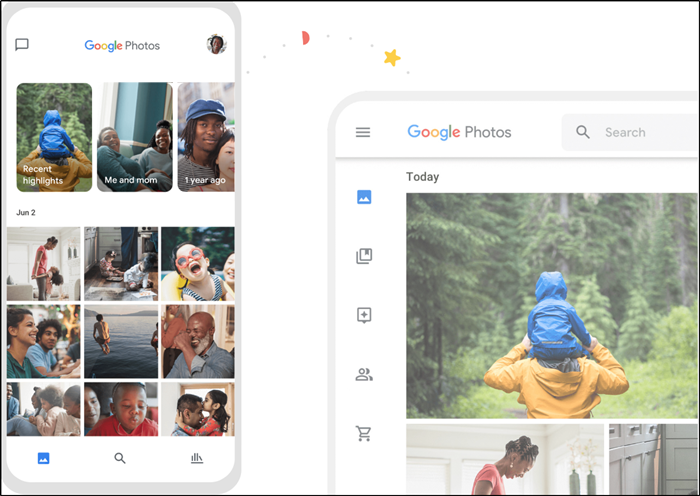 Google Photos app features