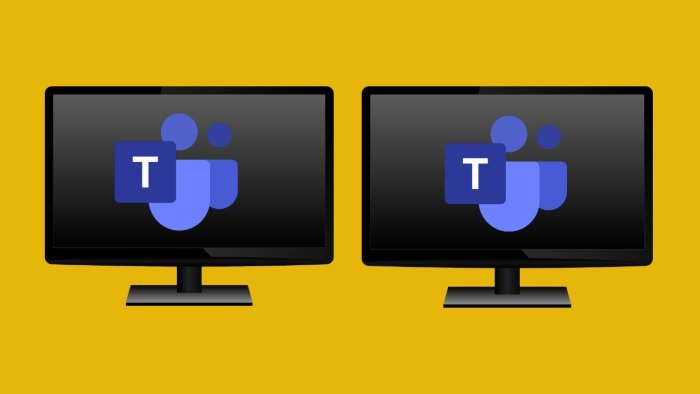 Microsoft Teams Dual-screen support