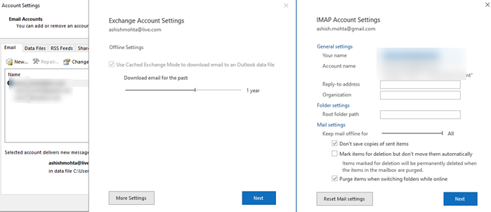 Outlook not sending emails in Windows 10 - With or Without attachments