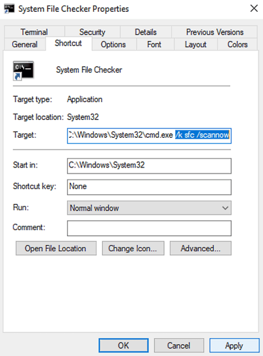 Run Command Prompt Commands With a Shortcut