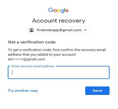 Locked out of Google account
