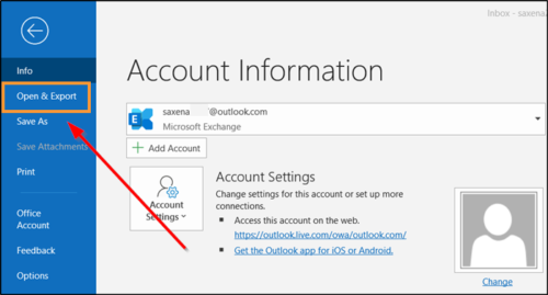 How to copy Outlook email folders to desktop