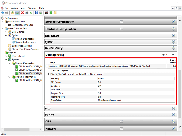 system-diagnostic-monitor-report