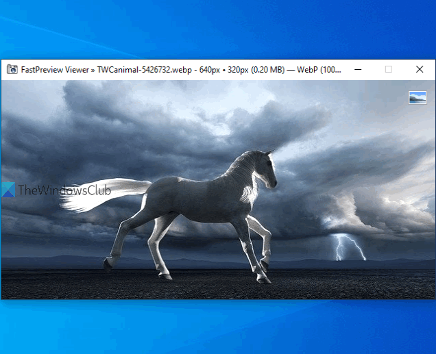 FastPreview image viewer software