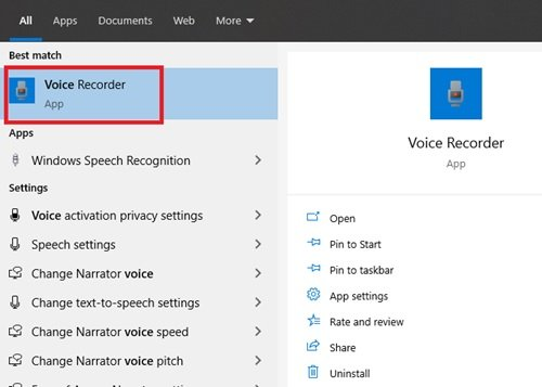 Microphone on Windows 10