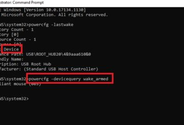 Wake source of Windows 10 PC