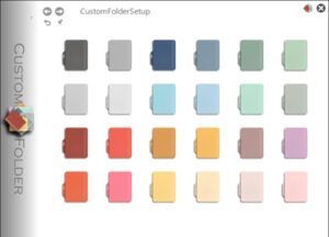 Customize Folder icons, Change color, Add Emblems with CustomFolders