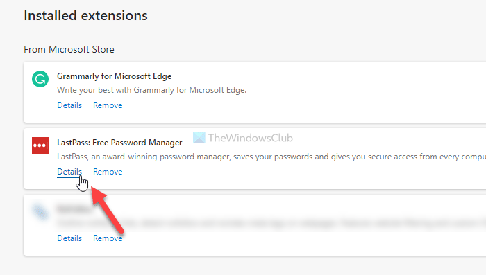 How to enable or disable extensions in InPrivate mode in Edge