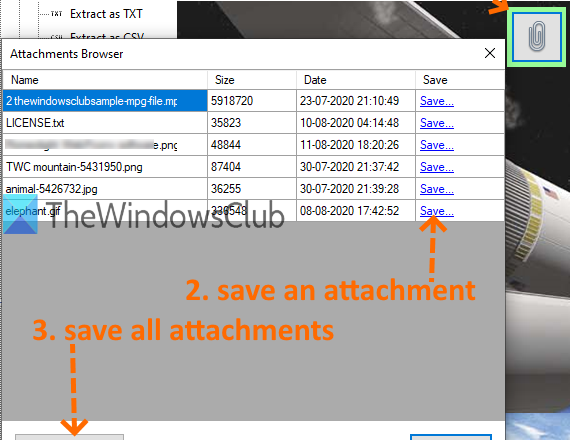 extract attachments from pdf