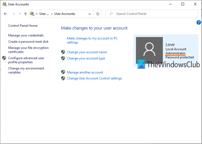 How to check if you have Admin rights on Windows 10